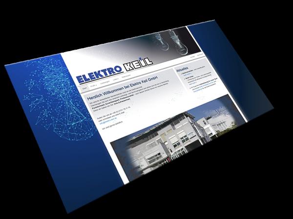Website von Elektro Keil | Darmstadt