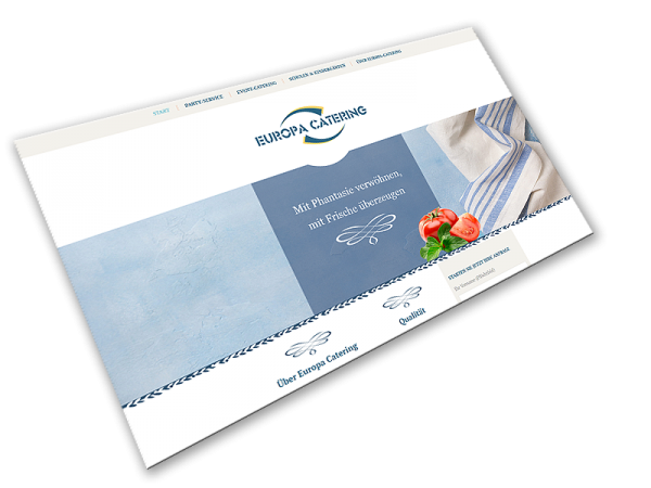 Website Europa-Catering | Bensheim